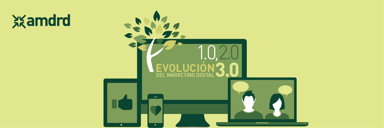 Evolución del marketing digital 1.0, 2.0 y 3.0