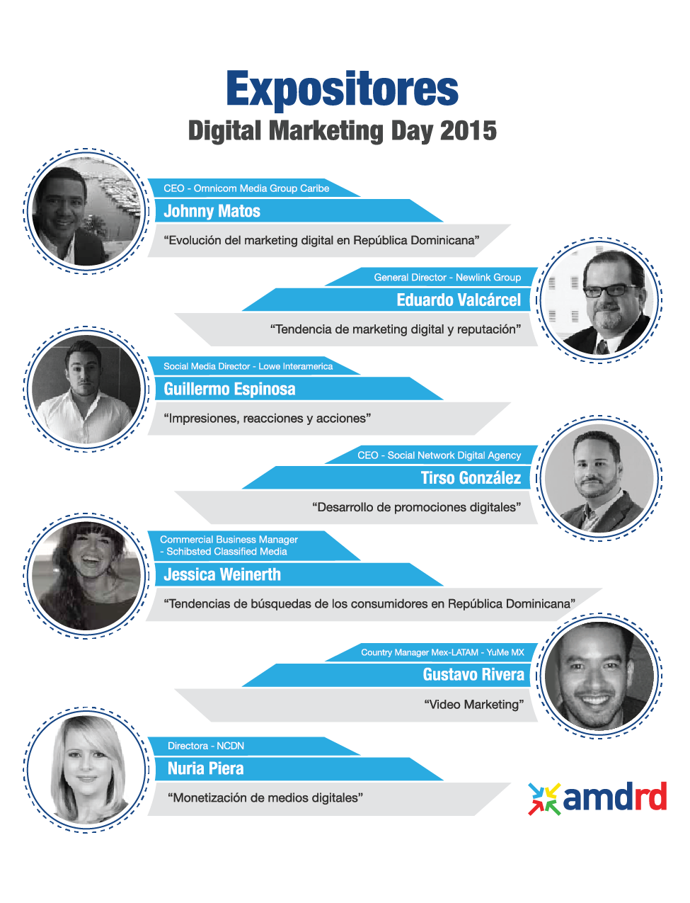 Expositores Digital Marketing Day